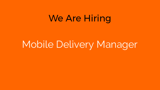 Mobile Delivery Manager