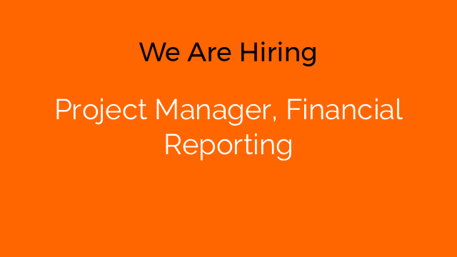 Project Manager, Financial Reporting