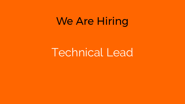 Technical Lead