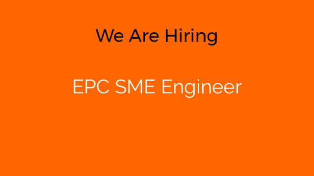 EPC SME Engineer