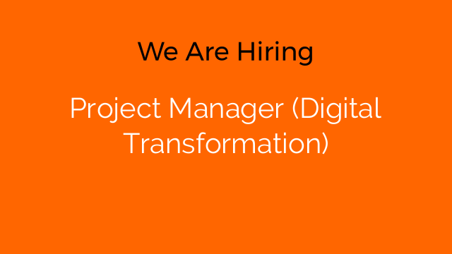 Project Manager (Digital Transformation)