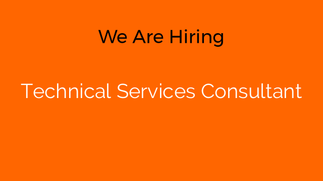 Technical Services Consultant