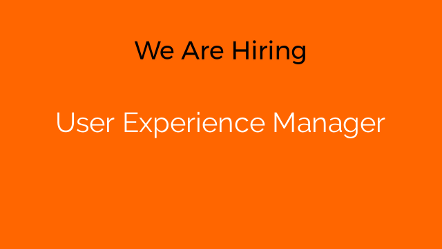 User Experience Manager