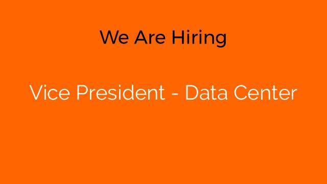 Vice President - Data Center