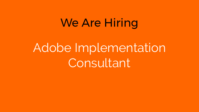 Adobe Implementation Consultant
