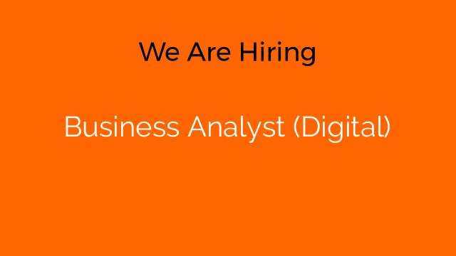 Business Analyst (Digital)