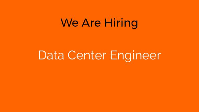 Data Center Engineer