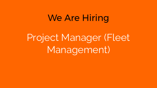 Project Manager (Fleet Management)