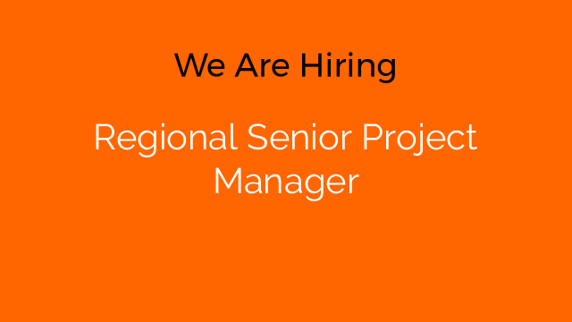 Regional Senior Project Manager