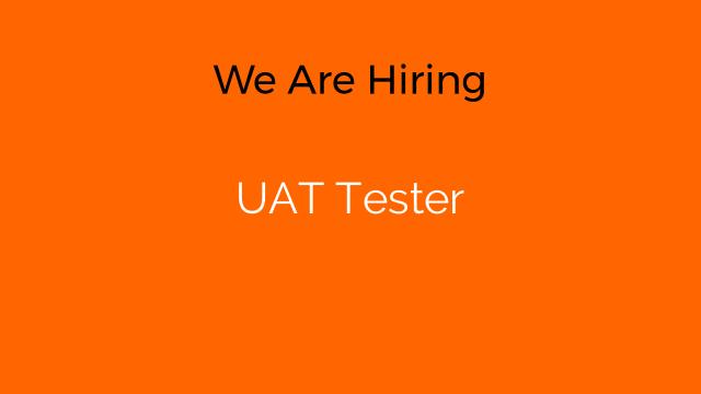 UAT Tester