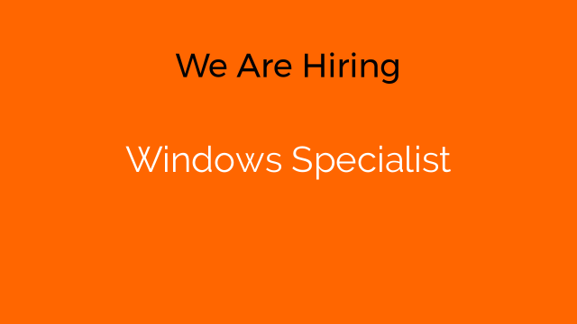 Windows Specialist