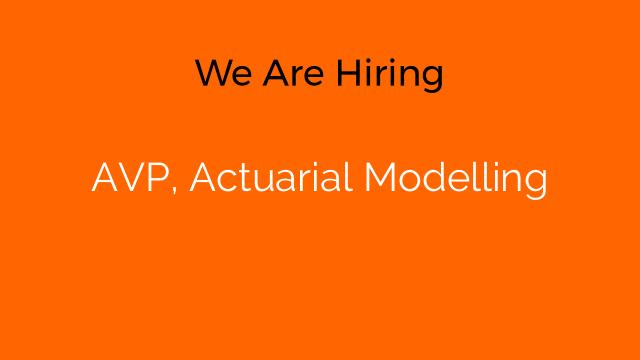 AVP, Actuarial Modelling