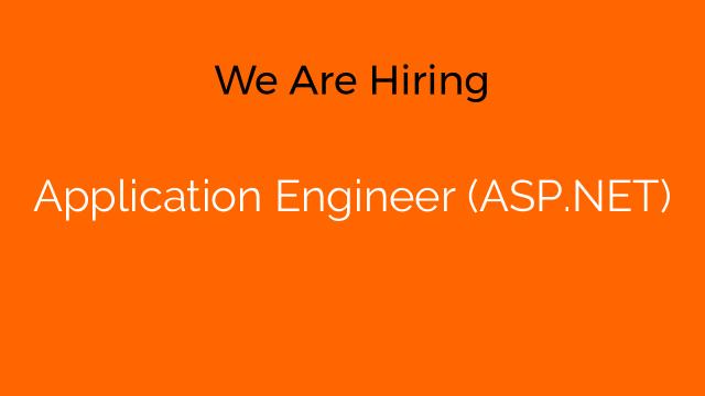 Application Engineer (ASP.NET)