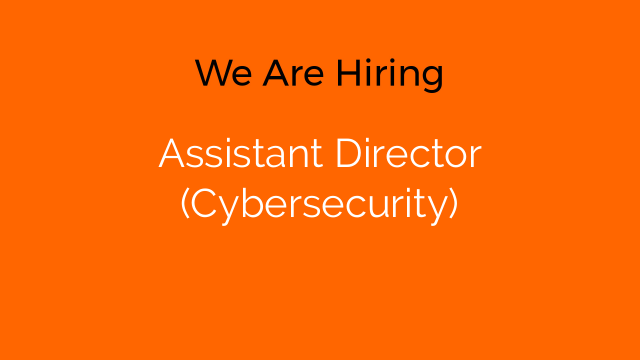 Assistant Director (Cybersecurity)