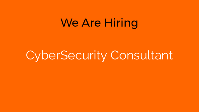 CyberSecurity Consultant
