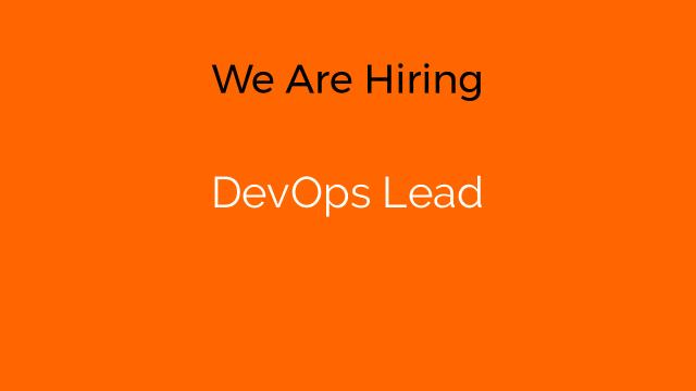 DevOps Lead