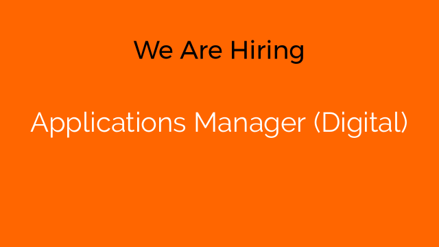 Applications Manager (Digital)