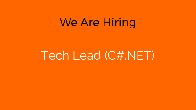 Tech Lead (C#.NET)