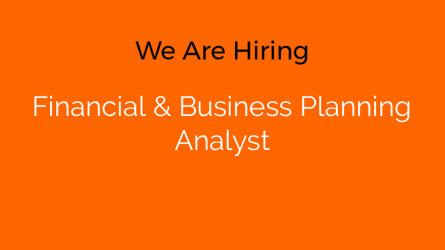 Financial & Business Planning Analyst