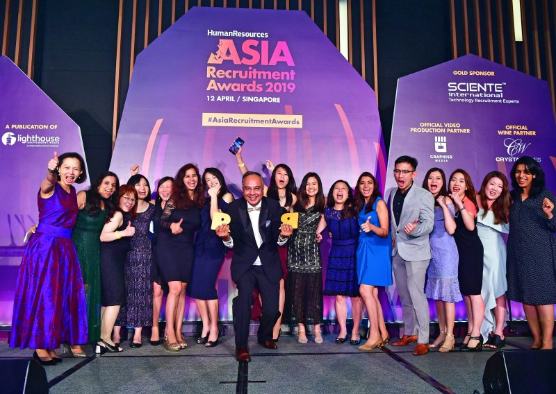 Sciente International wins again at HR Asia Recruitment Awards
