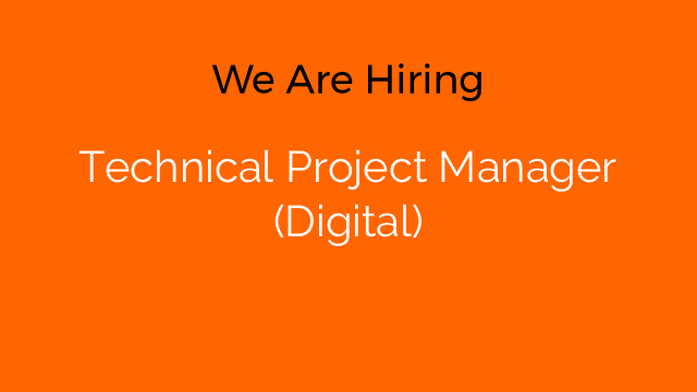 Technical Project Manager (Digital)