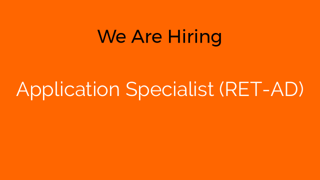 Application Specialist (RET-AD)