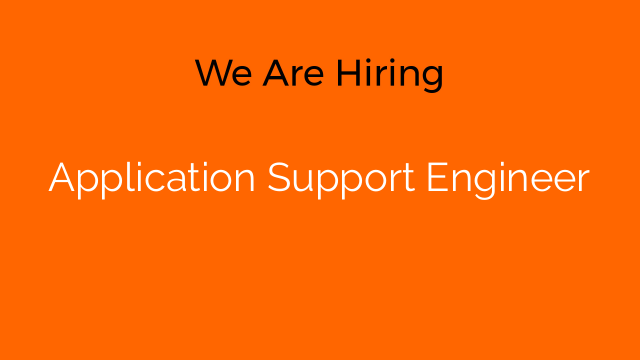 Application Support Engineer
