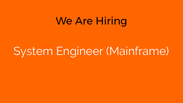 System Engineer (Mainframe)