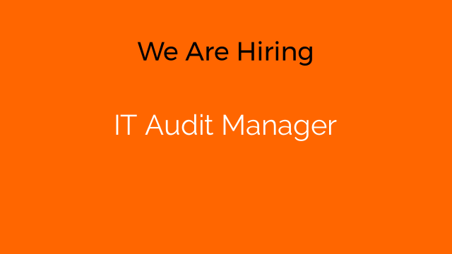 IT Audit Manager