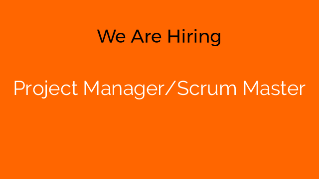 Project Manager/Scrum Master