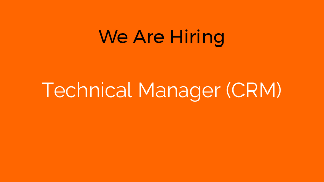 Technical Manager (CRM)
