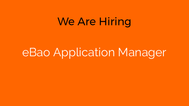 eBao Application Manager