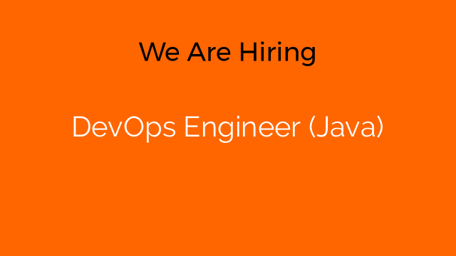 DevOps Engineer (Java)