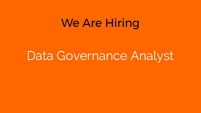 Data Governance Analyst