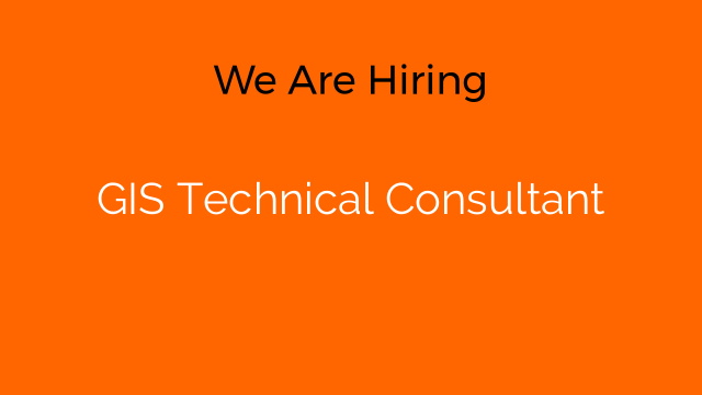 GIS Technical Consultant