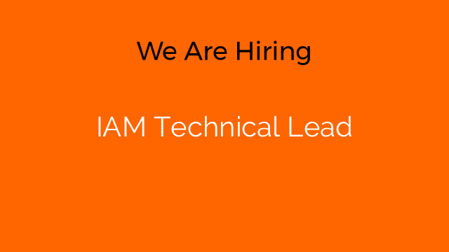 IAM Technical Lead