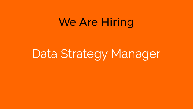 Data Strategy Manager