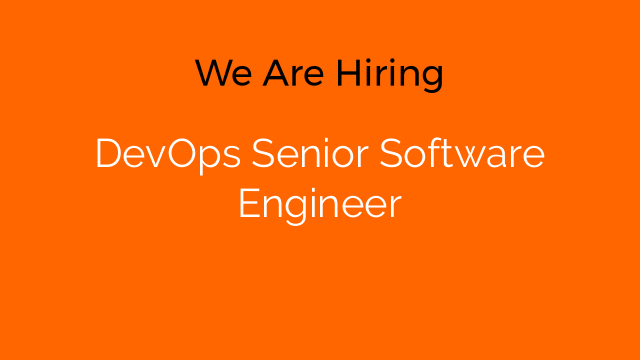 DevOps Senior Software Engineer