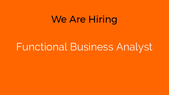 Functional Business Analyst