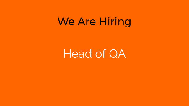 Head of QA