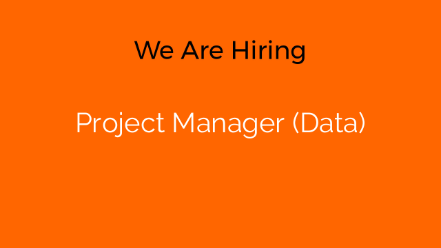 Project Manager (Data)