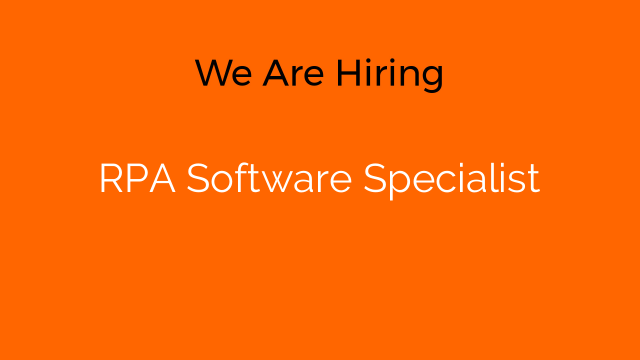 RPA Software Specialist
