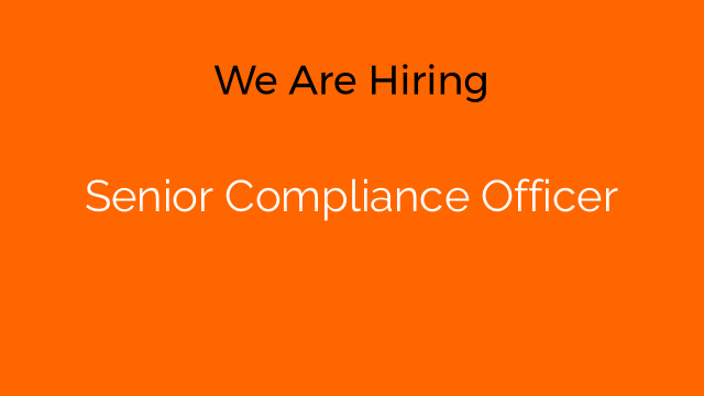 Senior Compliance Officer