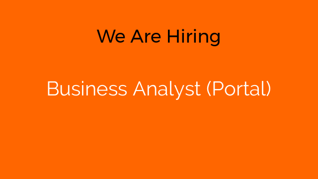 Business Analyst (Portal)
