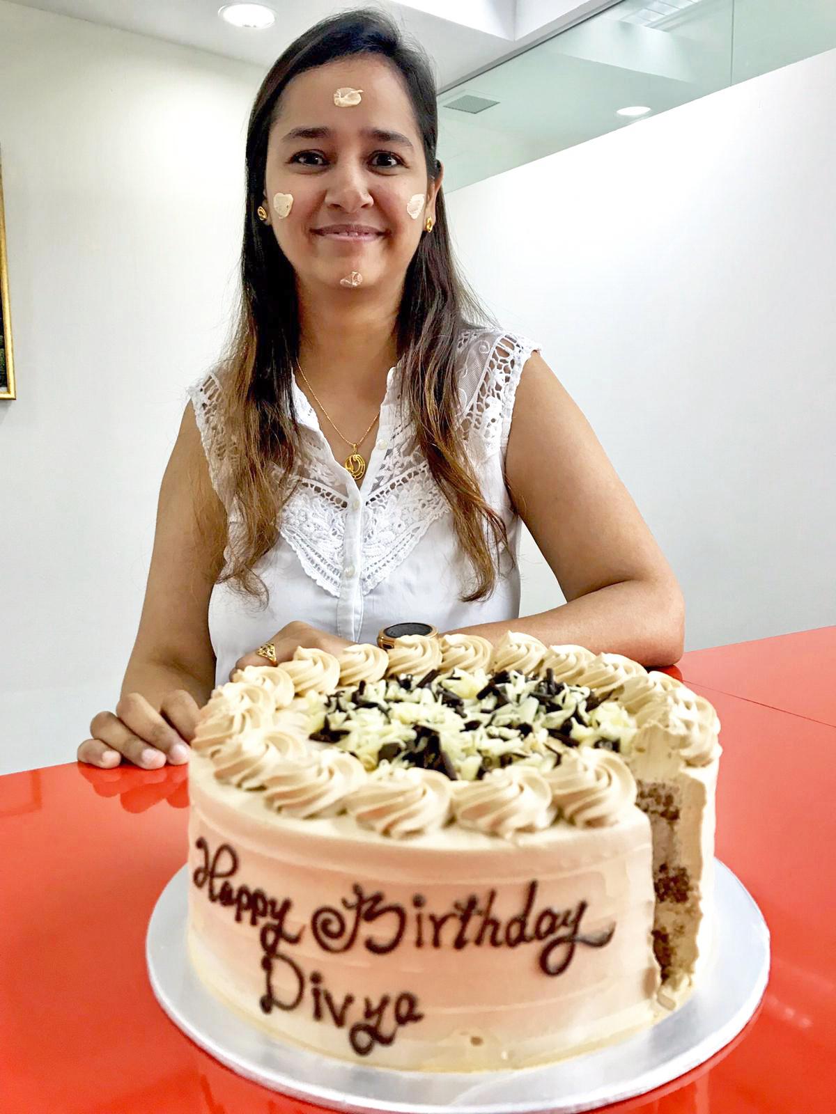 Divya's birthday