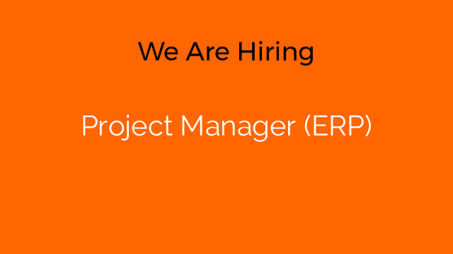 Project Manager (ERP)