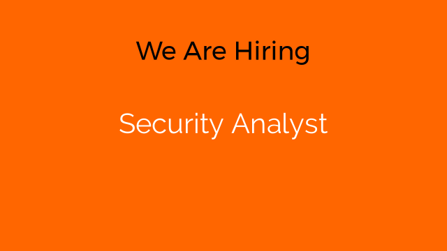 Security Analyst