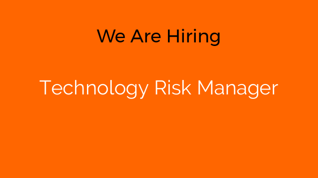 Technology Risk Manager