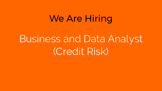 Business and Data Analyst (Credit Risk)