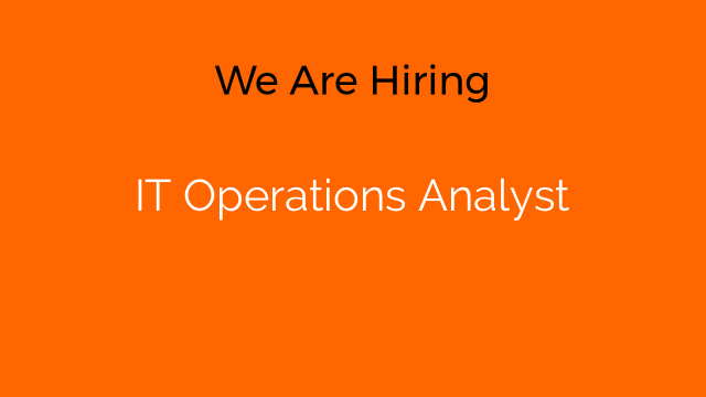 IT Operations Analyst
